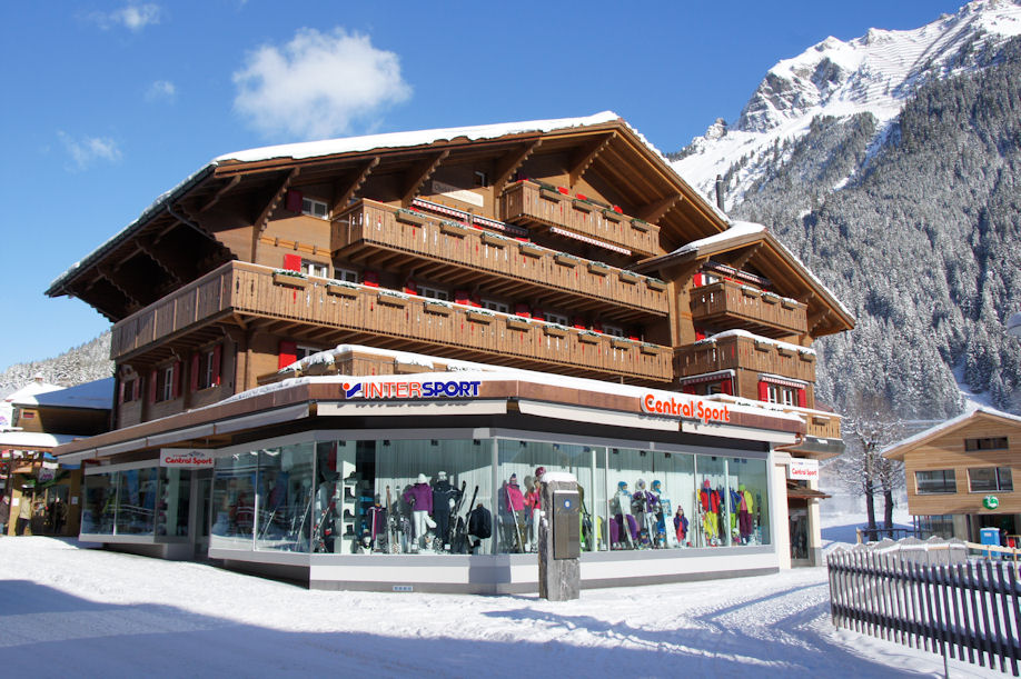 Ski and snowboard rental in Wengen INTERSPORT Rent