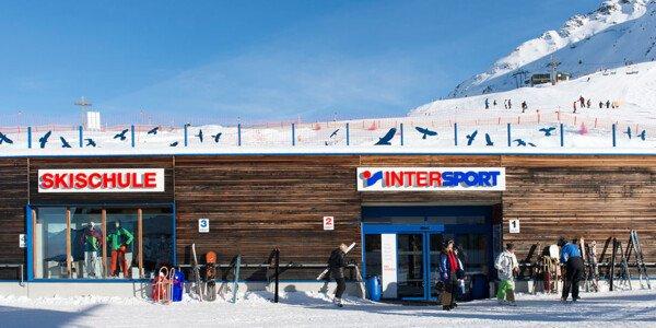 Klettersteigset Intersport : Skiverleih schruns intersport rent