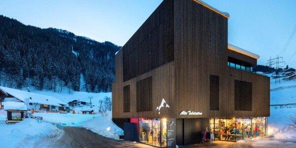 Klettersteigset Intersport : Skiverleih in gaschurn montafon intersport rent