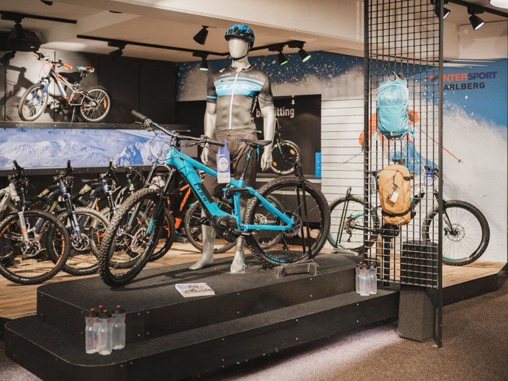 INTERSPORT Arlberg in St. Anton: Bike Shop